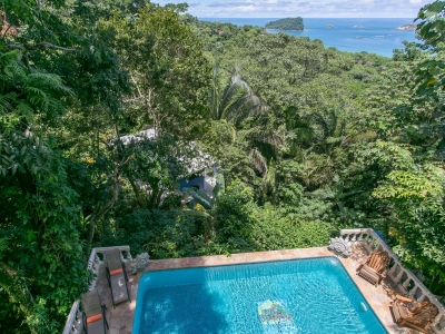1/5 ACR 6Bedr. Ocean View Home w/Views Of Manuel Antonio Park US$ 949K