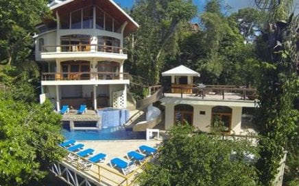 0.25 ACRES – 6 Bedroom Ocean View Home With Pool And Manuel Antonio Park Views!!!