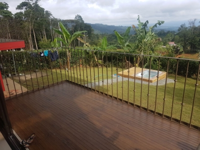 0.13 ACRES - 3 Bedroom Home With Chirripo Mountain Views!!!!