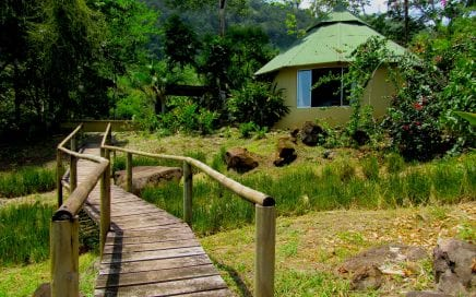 1 ACRE – BnB With 3 Rental Cabinas Plus Owner's Home In Escaleras With Ocean View!!!