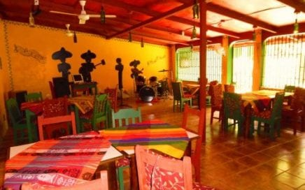 3 ACRES – Restaurant And Bar Plus 4 Room Hotel In Center Of Ojochal!!!
