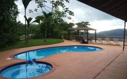 1.1 ACRES – Cascada Azul – 2 Ocean View Homes, Pool, Jacuzzi, & Solar Pannels!!!