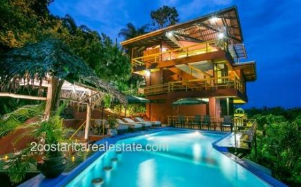 0.71 ACRES – 5 Bedroom Ocean View Home With Pool And Successful Vacation Rental History!!!!