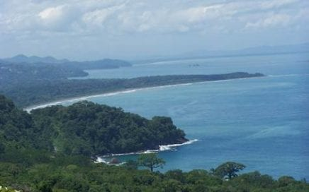 64 ACRES – Amazing Ocean Views, Multiple Building Sites, Primary Jungle, All Year Creek!!!!