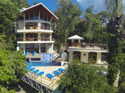 0.25 ACRES - 6 Bedroom Ocean View Home With Pool And Manuel Antonio Park Views!!!