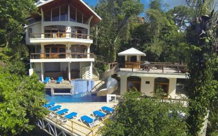 2.75 ACRES – 6 Bedroom Ocean View Home With Pool And Manuel Antonio Park Views!!!