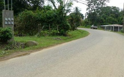 1/2 ACRE – Excellent Commercial Property On Main Street In Uvita!!