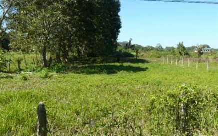 1/4 ACRE – Perfect Commercial Or Residential Lot On Paved Road 250 Meters From Beach!!