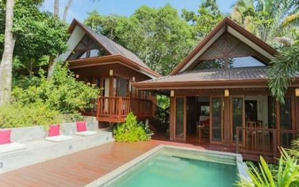 15.8 ACRES – 2 Bedroom Modern Bali Style Home w/ Pool, Ocean View, All Year Creek!!!!