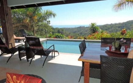 4 ACRES – 2 Bedroom Ocean View Home W Pool In Jungle Setting With River Access!!!