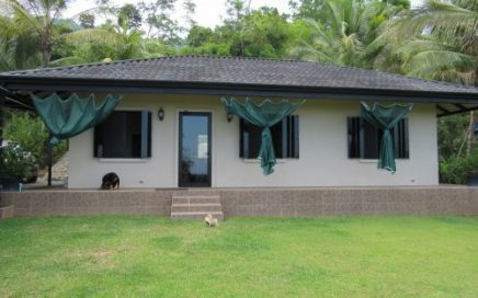 6.5 ACRES – 2 Bedroom Home, Wonderful Ocean and Valley Views with River!!