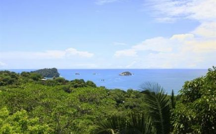 0.38 ACRES – 4 Bedroom Home With Pool With Amazing Manuel Antonio Park Ocean Views!!!!