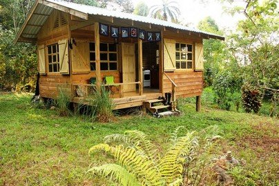 2.9 ACRES – 1 Bedroom Cabin With Diamante Waterfall Views, Creek On Property Many Building Sites!