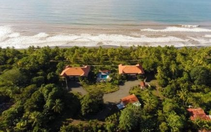 3 ACRES – 20 Room Beachfront Hotel On Central Pacific Coast!!!!