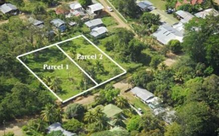 0.9 Acres – two commercial lots 300 meters east of the BCR