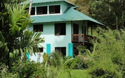 1/2 ACRE – 3 Bedroom Home on Baru River – Property is Segregated into 5 lots!!!