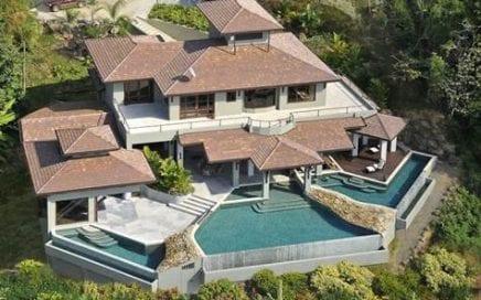 THE JADE HOUSE – 5 Bedroom Resort Style Home w/ 3 Infinity Pools And Huge Ocean Views!!