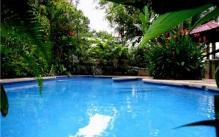 2.75 ACRES – 5 Villa Eco Lodge With Pool, Ocean View, Main House Plus Highway Frontage!!