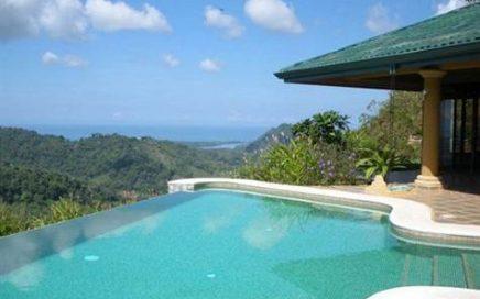 7.4 ACRES – 2 Bedroom Home Built To The Best Standards, Very Private, Huge Ocean Views!!!