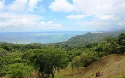 3.3 ACRES – Amazing Very Usable Property With Manuel Antonio and Sunset Ocean Views!!!