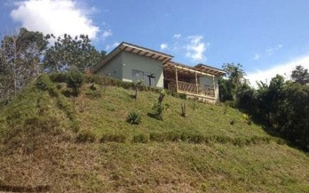 1/3 ACRE – Home W/ Stunning Mountain Views, One KM From The Center Of San Isidro!!!
