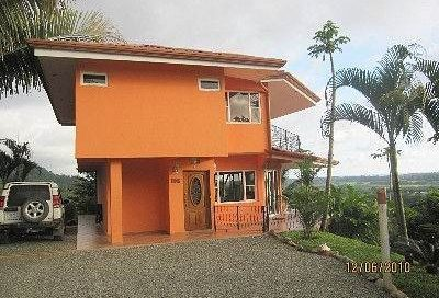 6.7 ACRES – 2 Bedroom Ocean View Home w/ Pool and Unfinished Guest House in Safe Gated Community!!