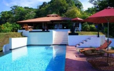 2.5 ACRES – 2 Bedroom Home With 2 Pools, Amazing Ocean View, Room To Build Villas Or Second Home!!