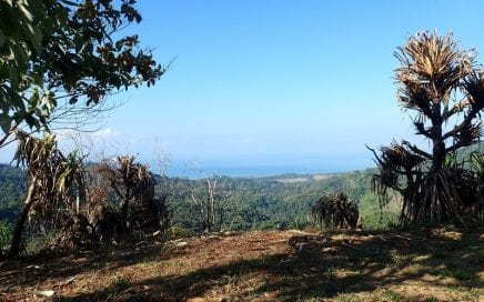 2.5 ACRES – Sunset And Sunrise Ocean View Property In Lagunas!!!