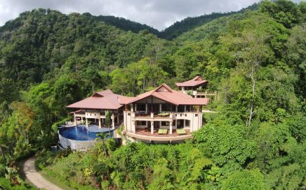 36 ACRES – 10 Room Luxury Estate With Amazing Ocean Views And Several Waterfalls!!!