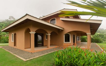 13.4 ACRES – 5 Bedroom Ocean View Home Plus 2 Bedroom Guest House In Gated Community!!!