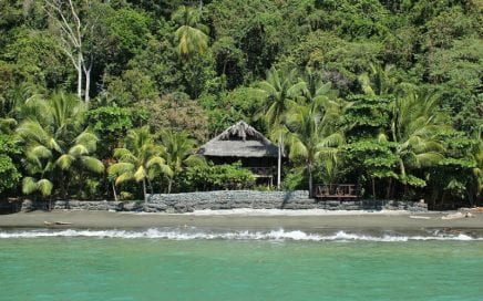 32 ACRES – Island In The Golfo Dulce With Amazing Beach Two 1 Bedroom Homes!!!!
