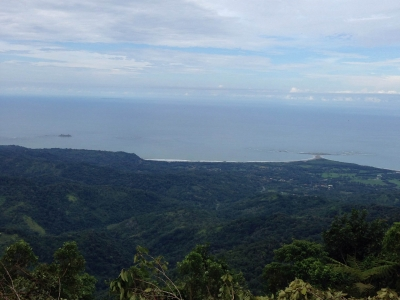 79 ACRES - Amazing Farm On Ridge Top With Whales Tale Ocean Views And Chirripo Mountain Views!!!