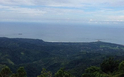79 ACRES – Amazing Farm On Ridge Top With Whales Tale Ocean Views And Chirripo Mountain Views!!!
