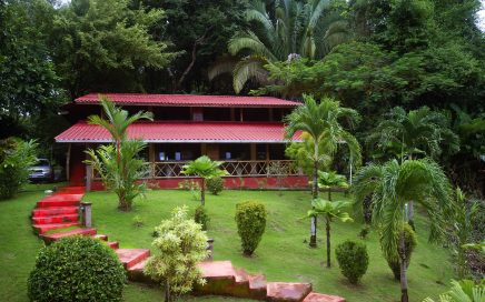 6 ACRES – Villa 4 Rooms, Pool, Jacuzzi With Ocean And Jungle Views!!!