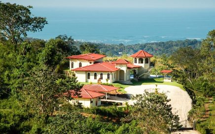0.6 ACRES – 6 Bedroom Ocean View Home With Pool In Gated Community!!!