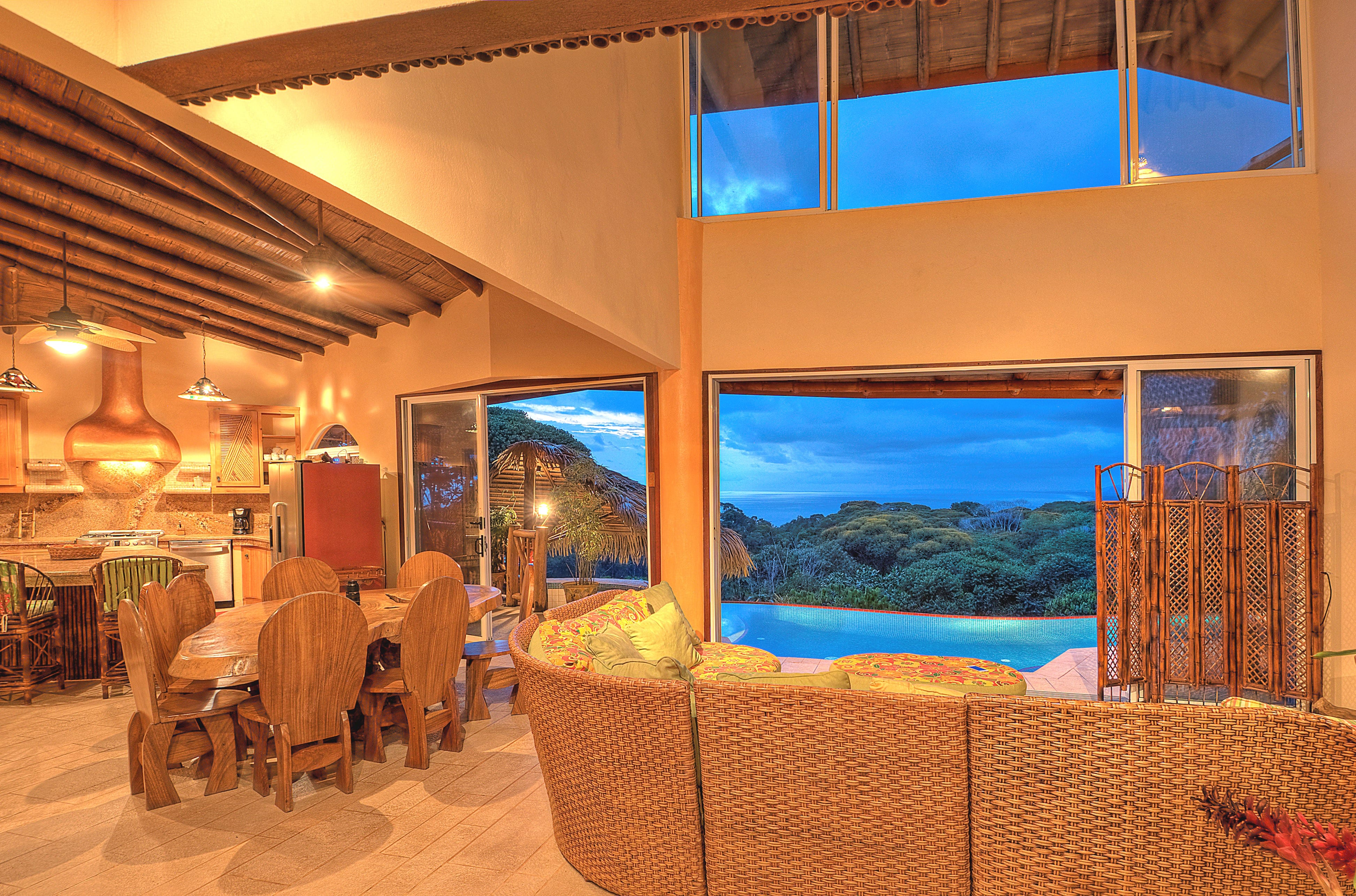 1.8 ACRES - 5 Bedroom Ocean View Home Plus 2 Guest Homes With Strong Rental History!!!