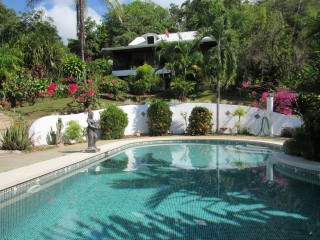 6.42 ACRES - 3 Bedroom BnB Plus Separate Cabina, Pool, Huge Sunset Ocean View, And Room To Expand!!!!