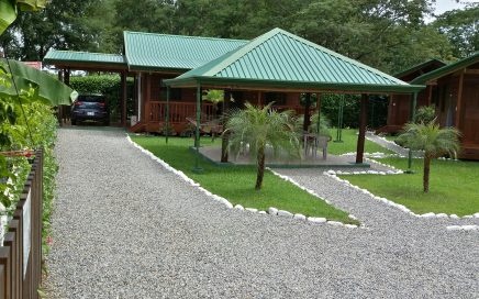 0.18 ACRES – 2 Bedroom Home Plus 2 Rental Cabinas With Excellent Rental Income!!!