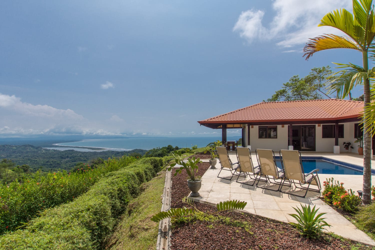 0.21 ACRES - 3 Bedroom Modern Spanish Hacienda With Pool And Spectacular Ocean Views!!!