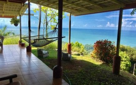 7 ACRES – 3 Bedroom Home + 2 Bedroom Home + Caretaker Home With Jaw Dropping Ocean Views!!!