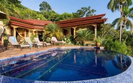 1.45 ACRES – 3 Bedroom Luxury Ocean View Home With Pool In Escaleras!!!