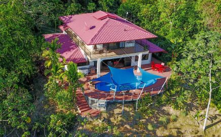 9.67 ACRES – 4 Bedroom Ocean View Home With Pool And Waterfall!!!