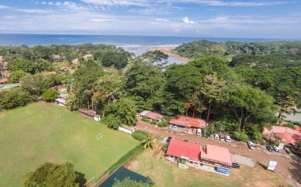 0.23 ACRES – Spanish School With Cabinas On Main Street Dominical!!!