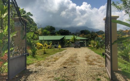 9.4 ACRES – 2 Bedroom Home On Small Farm With Horse Corrals and Mountain Views!!