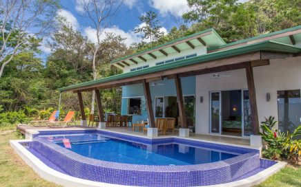 1.26 ACRES – 3 Bedroom Brand New Modern Home With Pool And Ocean Views!!