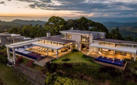 4 ACRES – 5 Bedroom Modern Luxury Estate With 3 Pools And Epic Ocean Views!!!