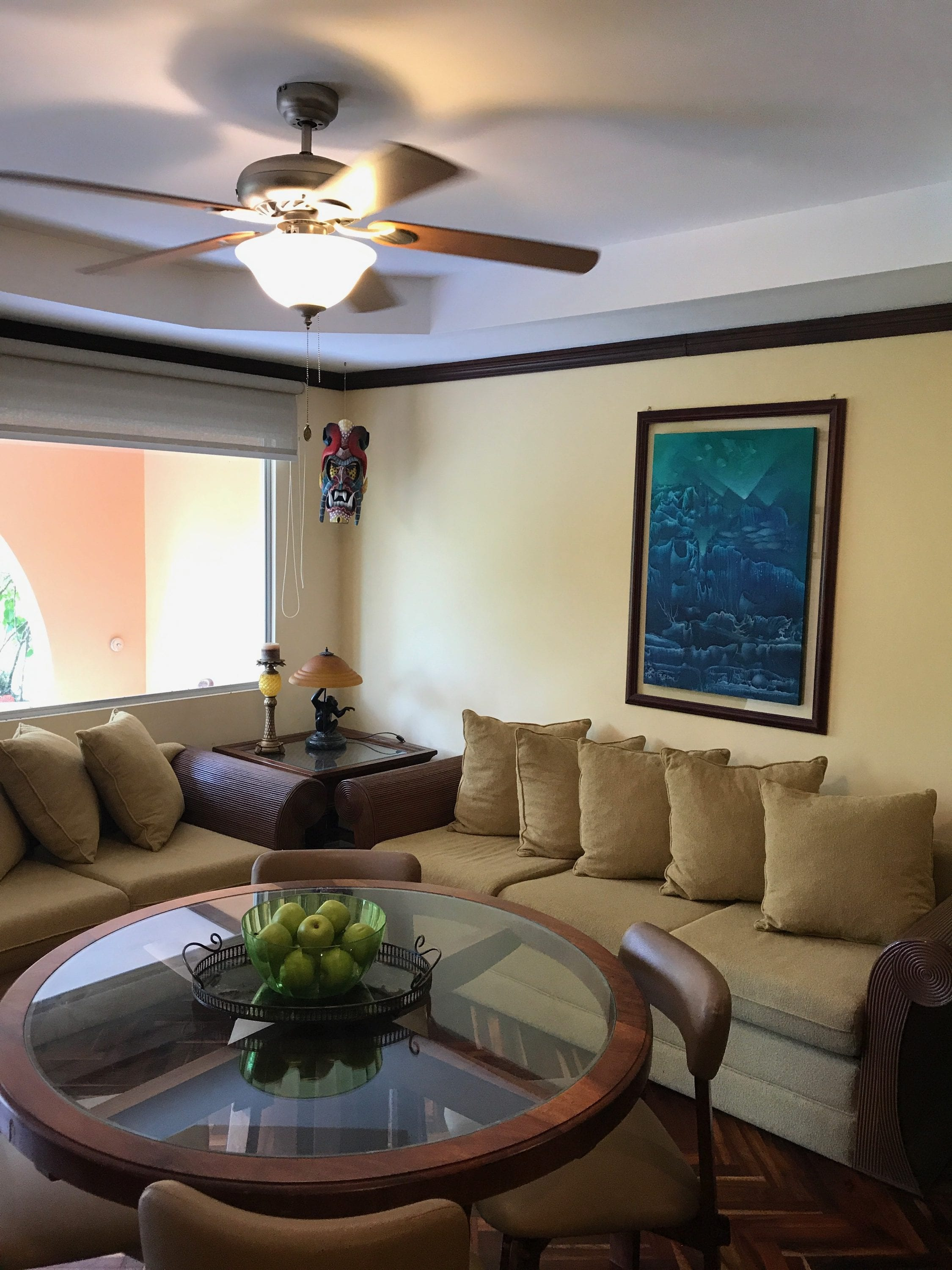 Condo 2 bedroom ground floor unit with shared pool at isla damas