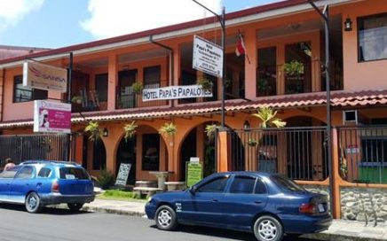 0.14 ACRES – Commercial Building In Downtown Quepos!!!!