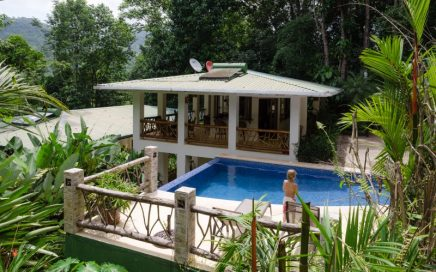 2.6 ACRES – 3 Bedroom Tropical Home With Pool In Safe gated Community!!!