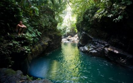 2.5 ACRES – Riverfront Property With Many Waterfalls, Swimming Pools, Jacuzzis And Natural Slides.